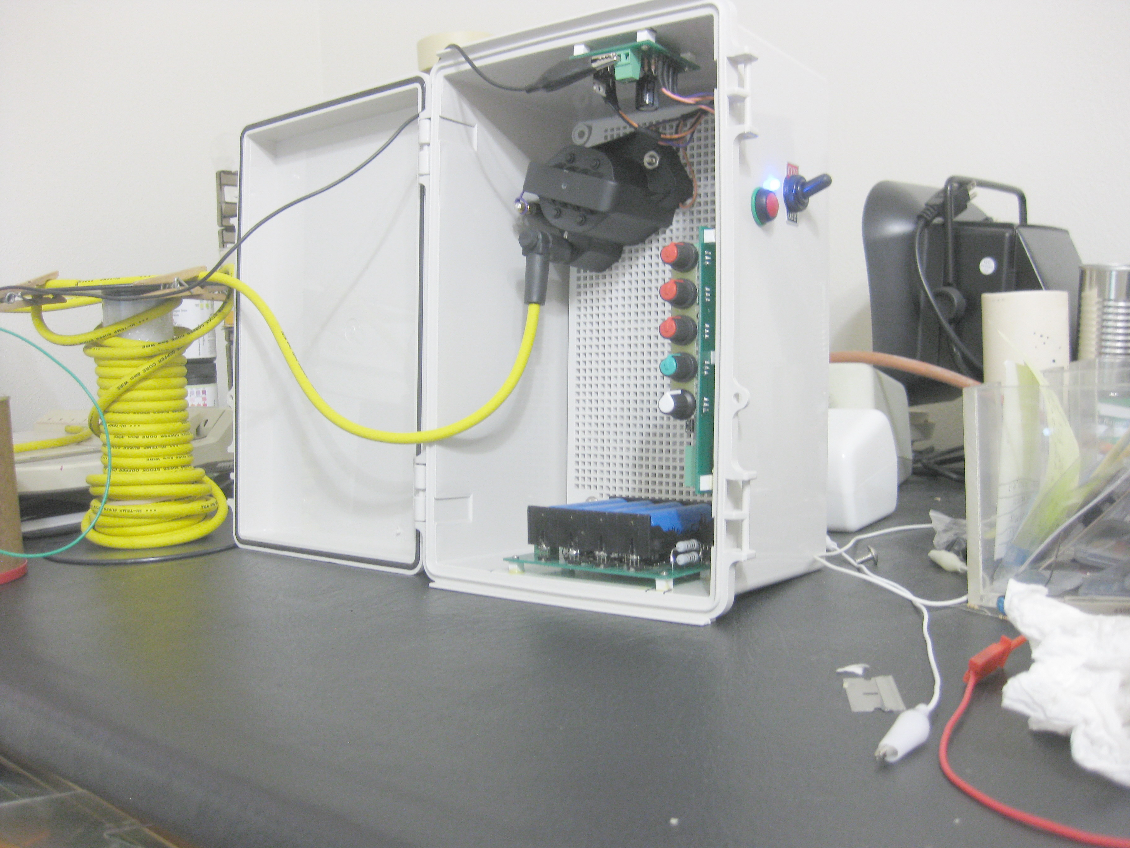 Electrasoft Flare Stack Pilot Ignition Control Fabrication