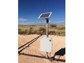 Solar powered flare stack ignition control systems